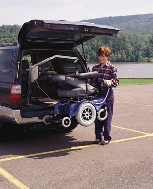 pride hercules scooter or wheelchair lift