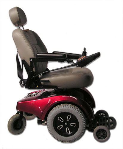 Pride Jazzy Jet And Jet Heavy Duty Electric Wheelchair - Pride power chairs