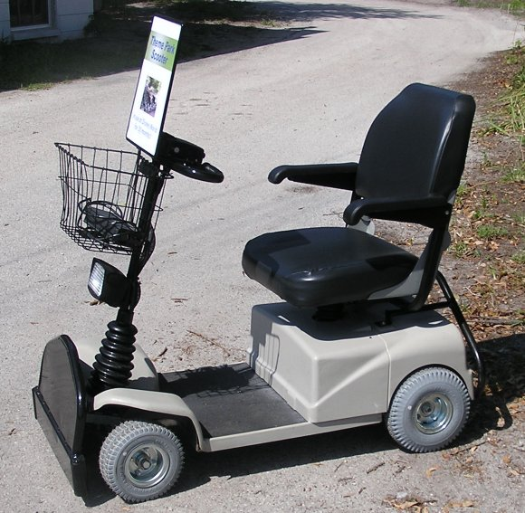 Handicap Ramp Motorized Mobility Scooters Electric Power Wheelchairs